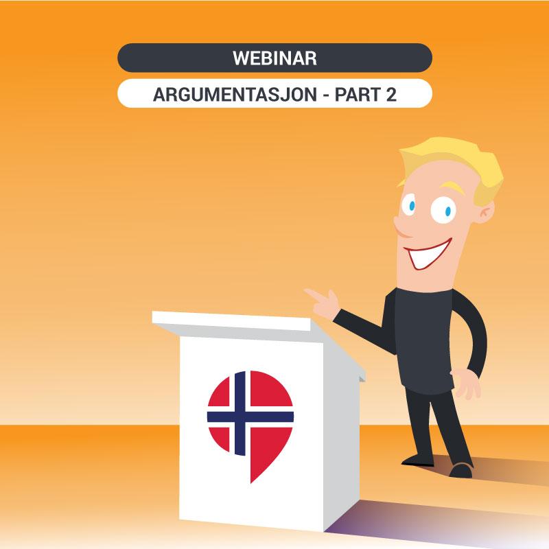 Free online training on argumentasjon - Part 2 -