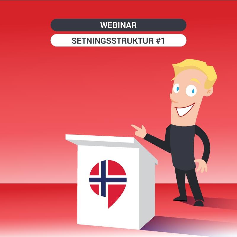 Free Norwegian class: Setningsstruktur Part 1 -