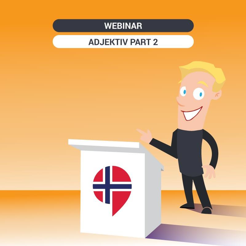 Free Norwegian class: Adjektiv i bestemt form Part 2 -