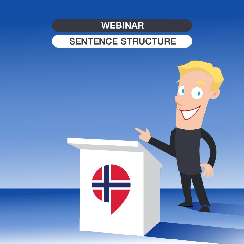Free online class: Sentence structure in Norwegian -