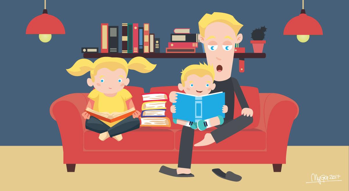 Lær norsk sammen med barna -