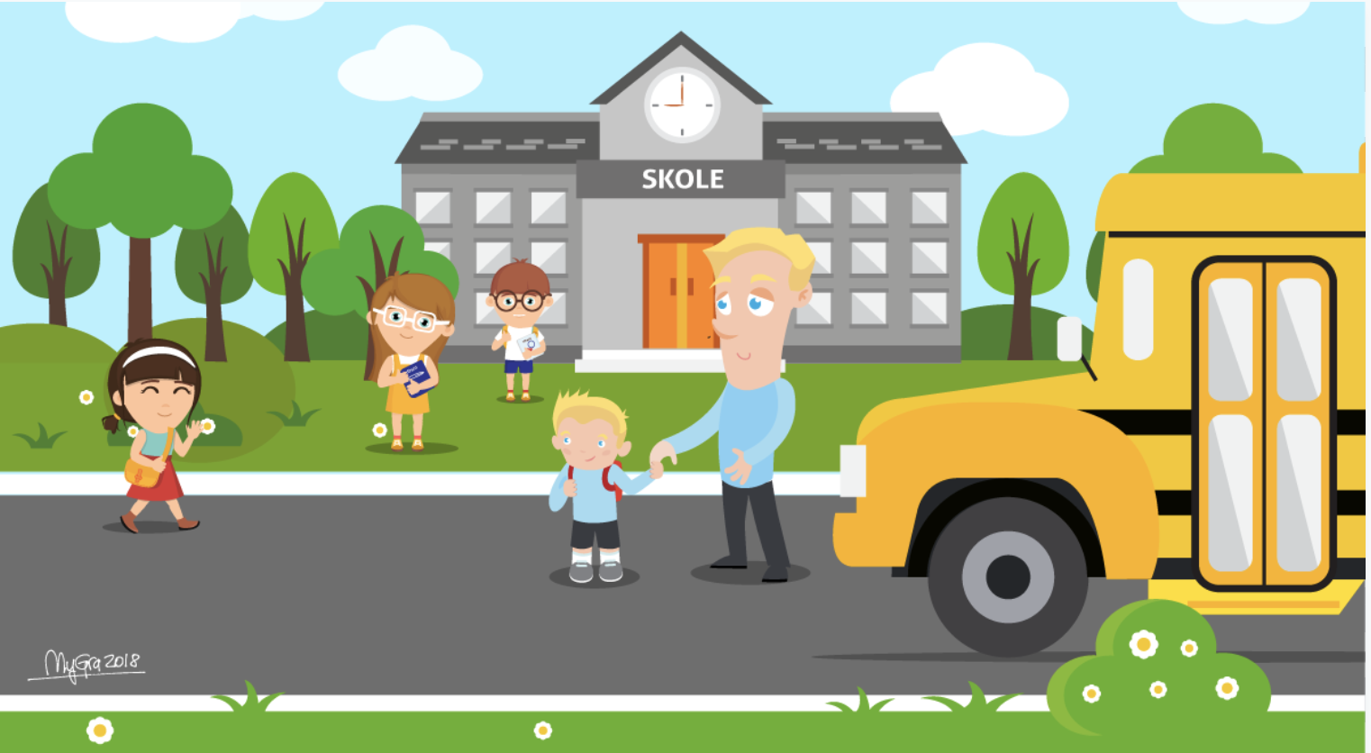 Skolestart - Back to school tips for parents in Norway