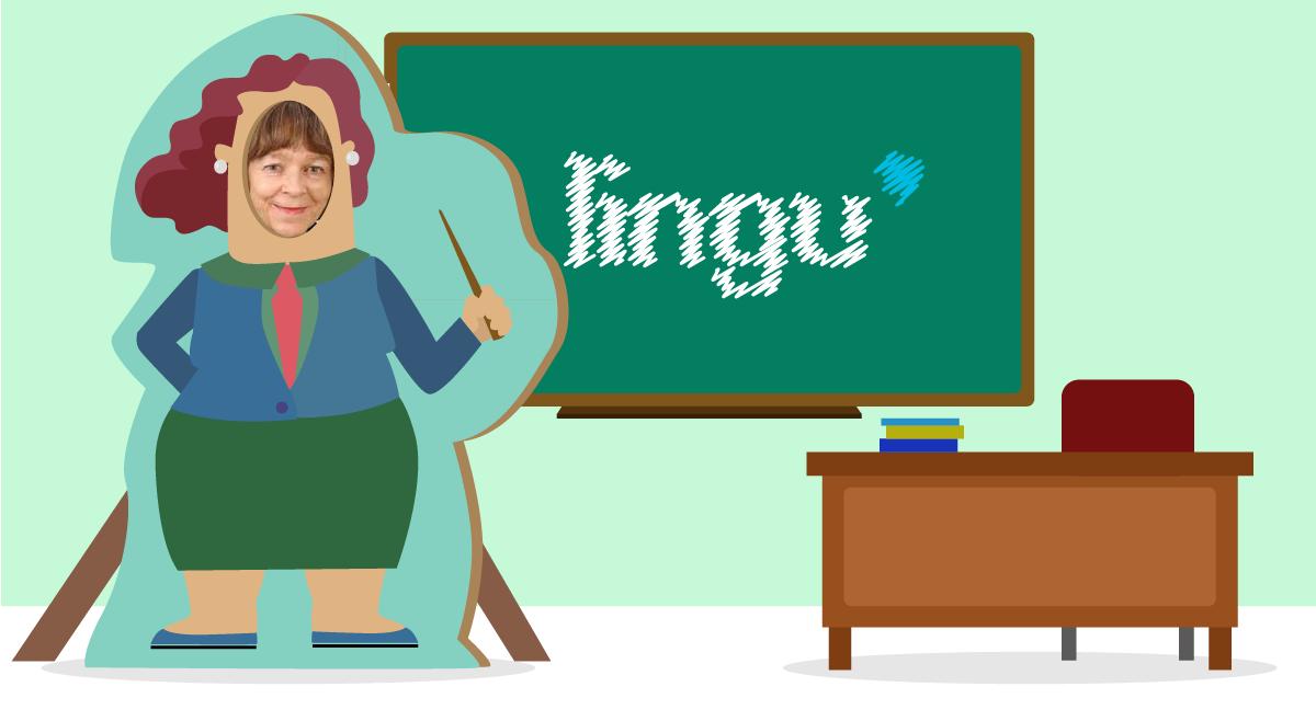 Bli kjent med Kari - Nettlærer i norsk hos Lingu - Lingu-portrettet i november