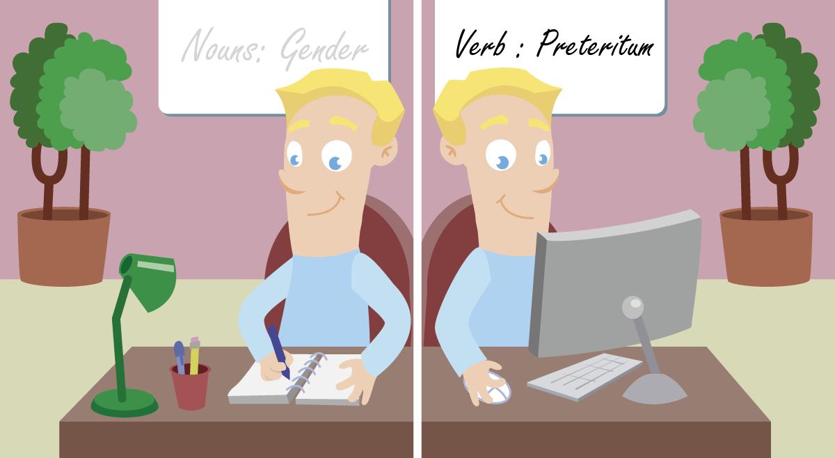 Gode vaner for deg som lærer norsk - Del 2 - Slik lærer du verb