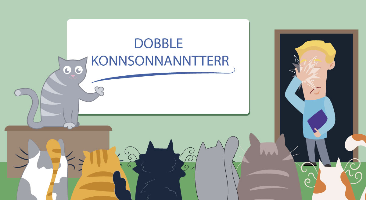 Doble konsonanter - The Next Level - Litt av hvert om uttalen av doble konsonanter  på norsk