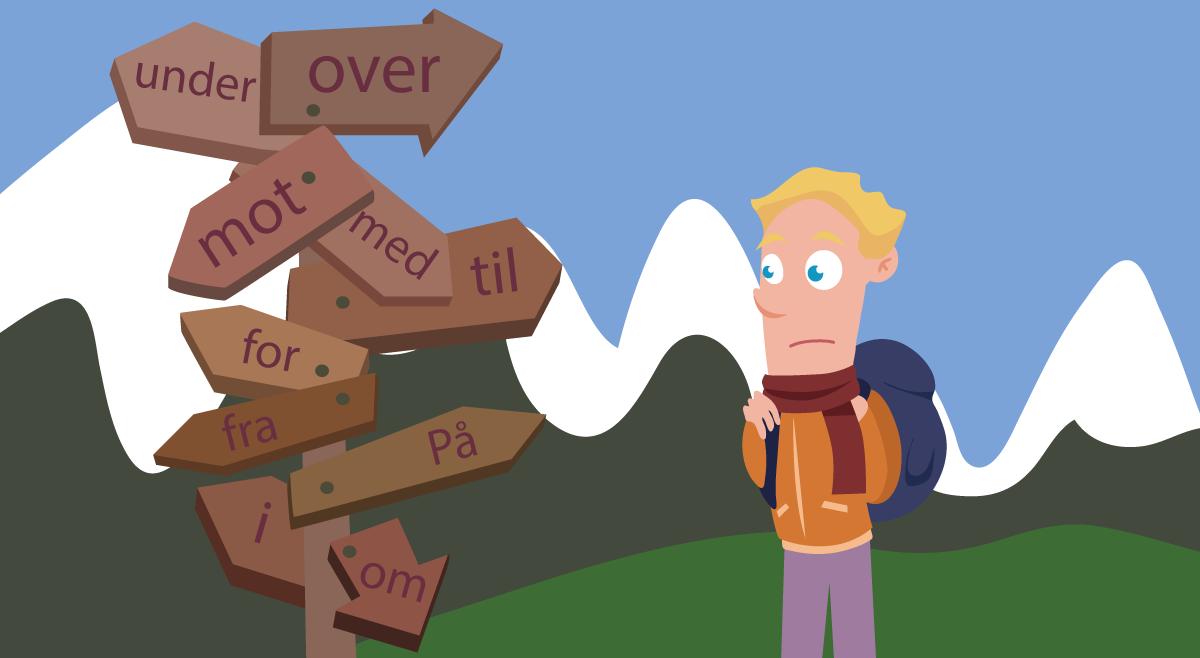 Preposisjoner  - Tips om en viktig ordklasse
